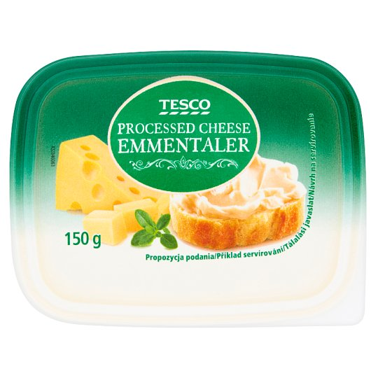 Tesco Emmentaler Processed Cheese 150 g