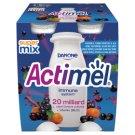 Danone Actimel Buckthorn & Blackcurrant & Acai Flavoured Fermented Milk 400 g (4 x 100 g)