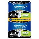 Always Ultra Secure Night Sanitary Towels Wings 12x