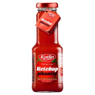 Kotlin Premium Ketchup pikantny 280 g