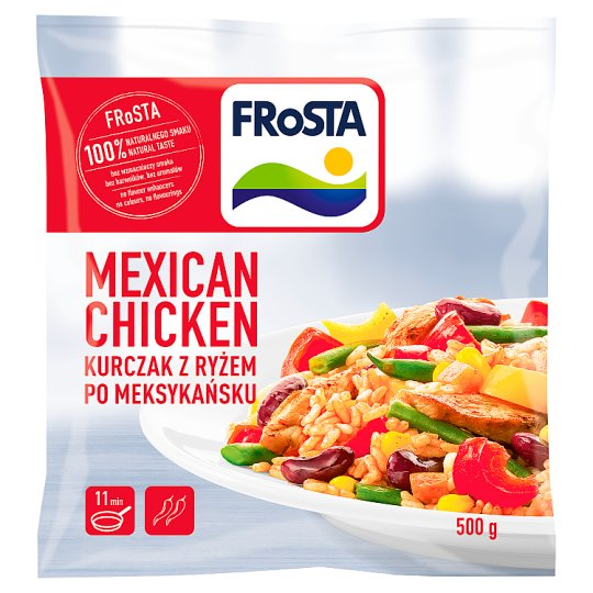FRoSTA Mexican Chicken Mexican Dish 500 g