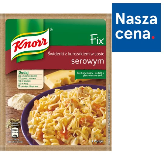 Knorr Fix Pasta with Chicken in Cheese Sauce 45 g