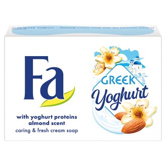 Fa Greek Yoghurt Almond Scent Cream Soap 90 g