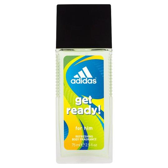 Adidas Get ready! Odświeżający dezodorant z atomizerem dla mężczyzn 75 ml