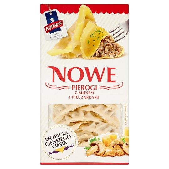 Konspol Nowe Dumplings with Meat and Mushrooms 230 g
