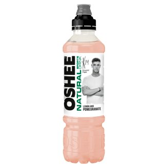 Oshee Natural Sports Drink Lemon and Pomegranate Non-Carbonated Drink 0.75 L