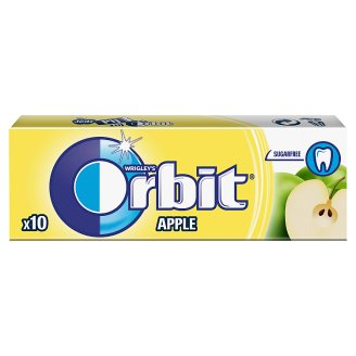Orbit Apple Sugarfree Chewing Gum 14 g (10 Pieces)