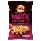 Lay's Maxx Mocno Pogięte o smaku chrupiący bekon Chipsy ziemniaczane 140 g