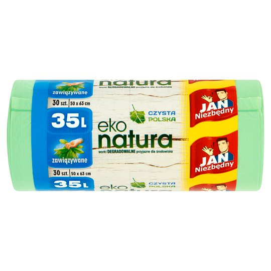 Jan Niezbędny Eko natura Degradable Garbage Bags 35 L 30 Pieces