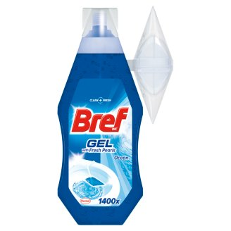 Bref WC with Fresh Pearls Ocean Żel do toalet 360 ml
