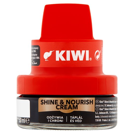 Kiwi Black Shoe Cream 50 ml