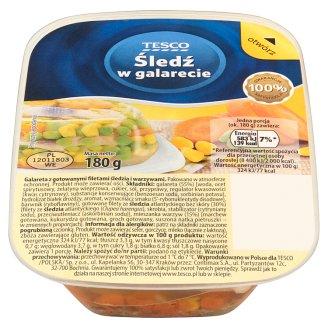 Tesco Herring in Jelly 180 g