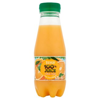 Tesco Orange from Concentrate 100% Juice 300 ml