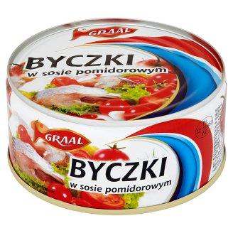 GRAAL Byczki Herring in Tomato Sauce 300 g