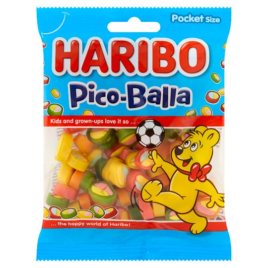 Haribo Pico-Balla Fruit Jellies 100 g