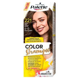 Palette Color Shampoo Szampon koloryzujący Średni brąz 221