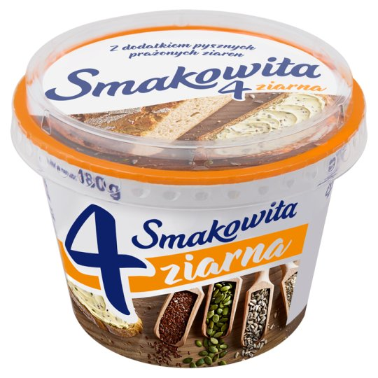 Smakowita 4 Grains Spread Fat 180 g