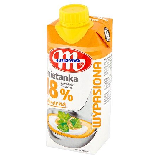 Mlekovita Wypasiona Śmietanka 18% 330 ml