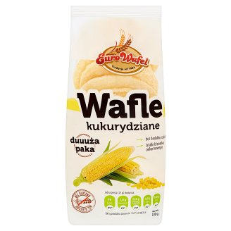 Eurowafel Corn Wafers 100 g