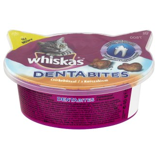Whiskas Dentabites with Chicken Supplementary Food for Cats 40 g