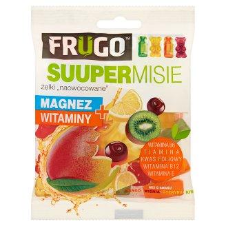 Frugo Suuper Misie Żelki naowocowane magnez + witaminy 90 g