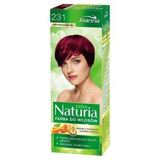 Joanna Naturia color Farba do włosów czerwona porzeczka 231