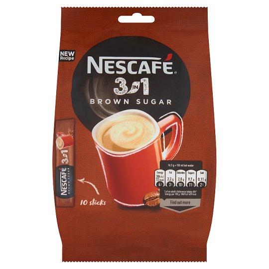 Nescafé 3in1 Brown Sugar Instant Coffee Drink 165 g (10 x 16.5 g)