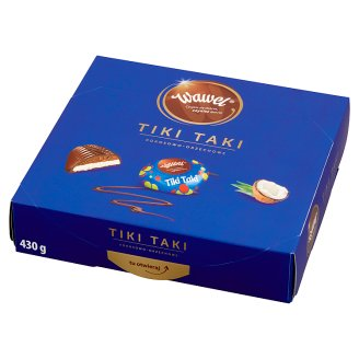 Wawel Tiki Taki Coconut-Peanut Filled Chocolates 430 g