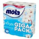 Mola White Bawełniana Biel Papier toaletowy 32 rolki