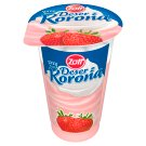 Zott Deser z Koroną Strawberry Flavoured Dessert with Whipped Cream 175 g