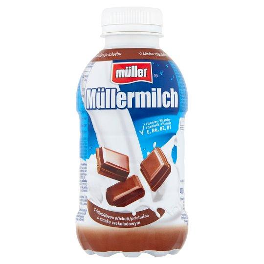 Müller Müllermilch Napój mleczny o smaku czekoladowym 400 g
