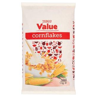 Tesco Value Cornflakes 1 kg