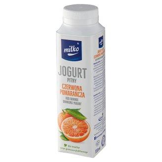 Milko Red Orange Yogurt 330 ml