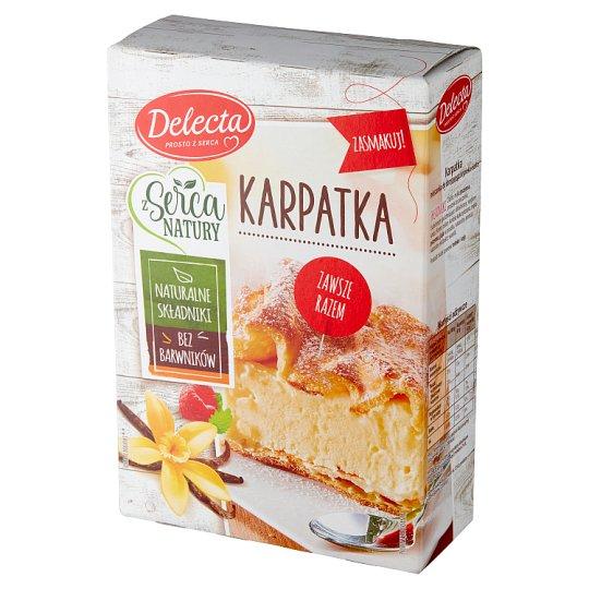 Delecta Karpatka Powdered Cake 390 g