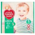 Tesco Loves Baby Ultra Dry Pieluszki jednorazowe dla dzieci 5 junior 11-25 kg 30 sztuk
