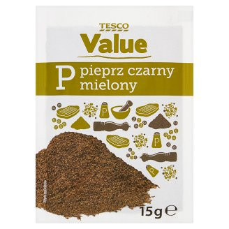 Tesco Value Ground Black Pepper 15 g