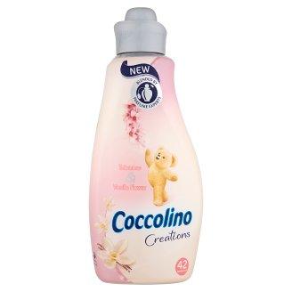 Coccolino Creations Tuberose & Vanila Flower Płyn do płukania tkanin koncentrat 1,5 l (42 prania)