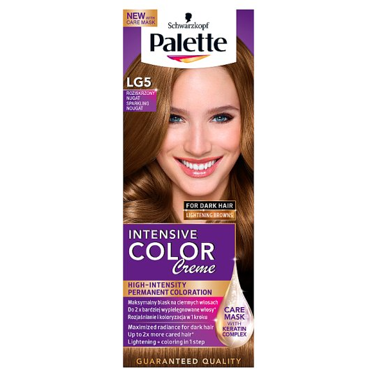 Palette Intensive Color Creme Hair Colorant Sparkling Nougat LG5