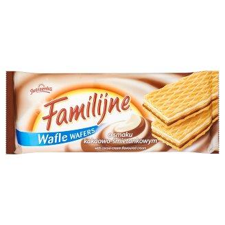 Familijne Wafers with Cocoa-Cream Flavoured Cream 180 g