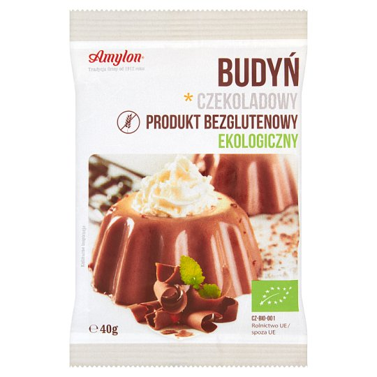 Amylon Ecological Chocolate Pudding 40 g