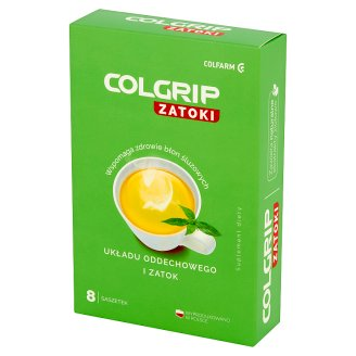 Colfarm Colgrip Sinus Dietary Supplement 29 g (8 Sachets)