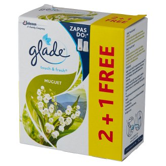 Glade by Brise One Touch Lily of the Valley Mini Spray Air Freshener Refill 3 x 10 ml