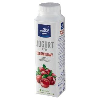 Milko Jogurt żurawinowy 330 ml
