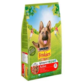 Friskies Vitafit Active Karma dla psów z wołowiną 10 kg