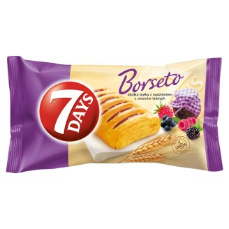 7 Days Borseto Sweet Roll with Forest Fruits Filling 80 g