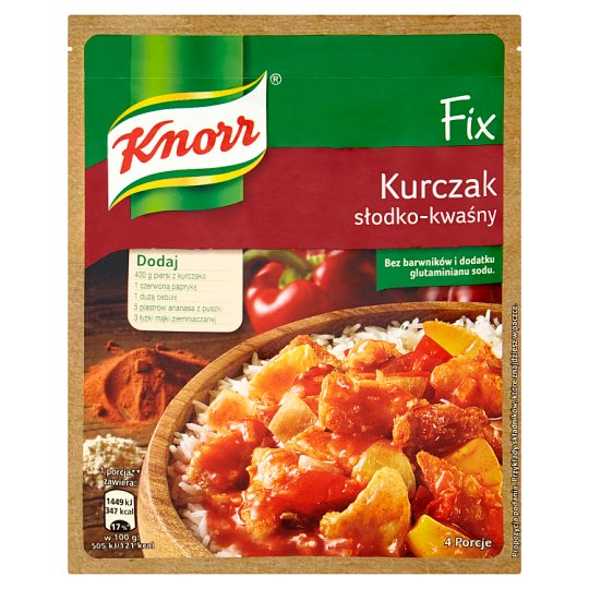 Knorr Fix Sweet and Sour Chicken 64 g
