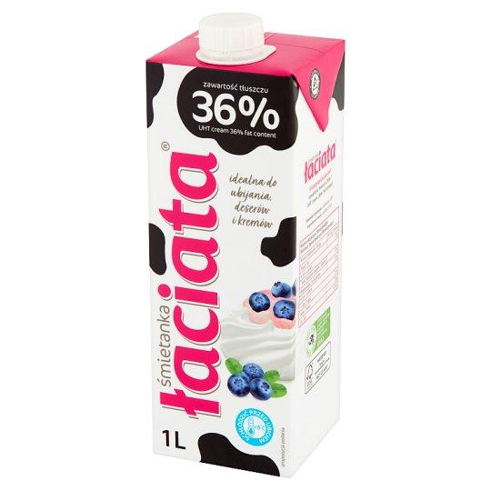 Łaciata 36% Whipping Cream 1 L
