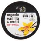Organic Shop Wanilia Bourbon Mus do ciała 250 ml