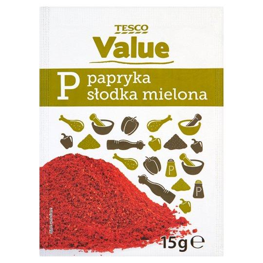 Tesco Value Papryka słodka mielona 15 g