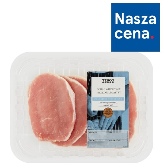 Tesco Pork Loin Boneless Slices 360 g